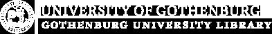 Logotype, Gothenburg University Library